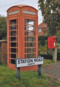 Kiosk at Terrington St Clement which is one of the 97 set to go following proposals by BT. Picture: Tony Jones.