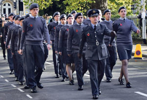 Air Cadets parade in St James Street. Picture: Supplied.