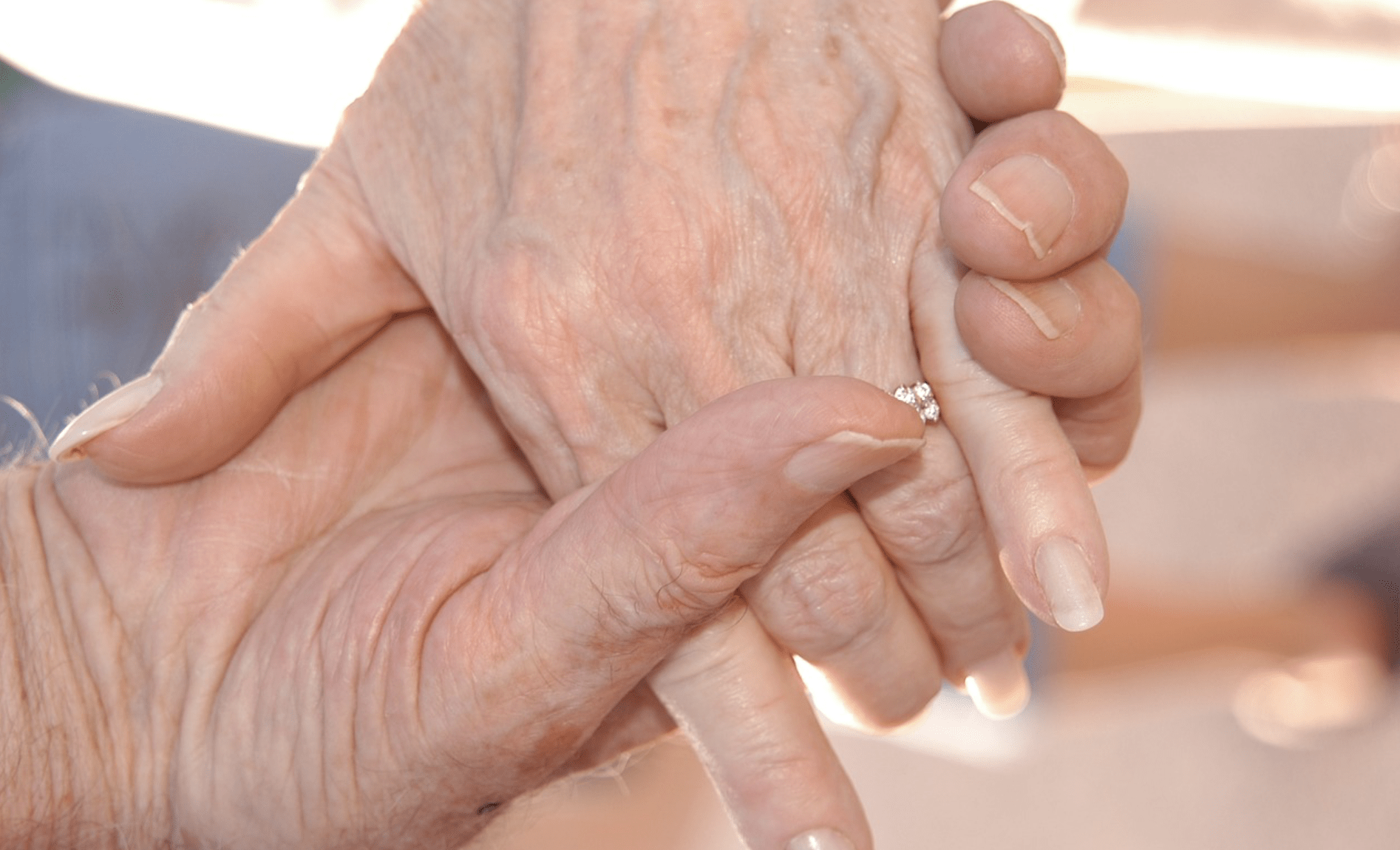 Downham pensioner runited with lost wedding ring