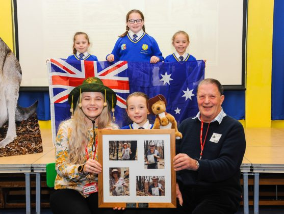 Howard pupils receive kind message of thanks from Oz